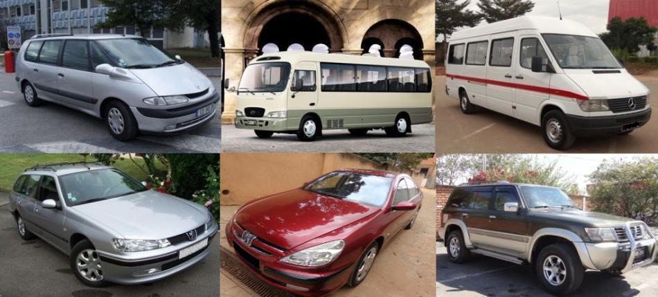 Nos voitures
